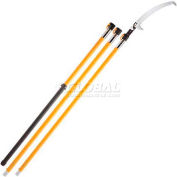 Silky Todoku Pole Saw, Fiberglass, Extra Large Teeth, Extends Up To 19Ft