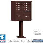 Cluster Box Unit, 8 A Size Doors, Type I, Bronze, USPS Access