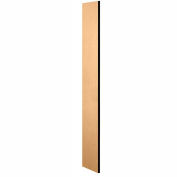 """Salsbury Side Panel 33300 - for 15""""D Designer Wood Locker without Sloping Hood Maple"""