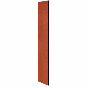 """Salsbury Side Panel 33303 - for 18""""D Designer Wood Locker without Sloping Hood Cherry"""