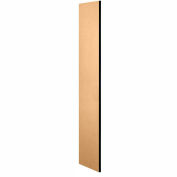 """Salsbury Side Panel 33303 - for 18""""D Designer Wood Locker without Sloping Hood Maple"""