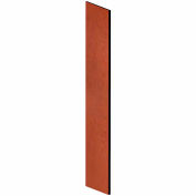 "Salsbury Side Panel 33304 - for 18""D Designer Wood Locker with Sloping Hood Cherry"