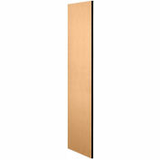 """Salsbury Side Panel 33305 - for 21""""D Designer Wood Locker without Sloping Hood Maple"""