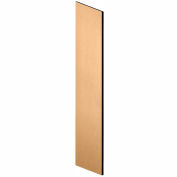 "Salsbury Side Panel 33306 - for 21""D Designer Wood Locker with Sloping Hood Maple"