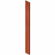 "Salsbury Side Panel 33309 - for 15""D Designer Wood Locker with Sloping Hood Cherry"