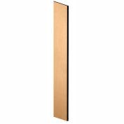 "Salsbury Side Panel 33309 - for 15""D Designer Wood Locker with Sloping Hood Maple"