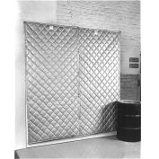 """Singer Safety SC-124-8 QFM Double Faced Quilted Wall Panel, 4'W x 8'H x 2"""" Thick"""