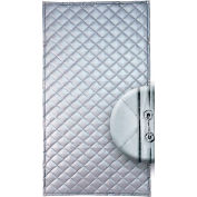 """Singer Safety SC122-6 QFM Single Faced Quilted Wall Panel, 4'W x 6'H x 1"""" Thick"""