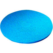 """Type 53 Blue Cleaner Floor Pad - 17"""" - Min Qty 9"""