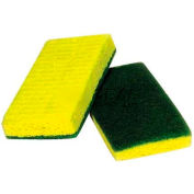 Polyurethane Scrubber Sponge Green Backed - 20 - Min Qty 10