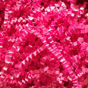 Spring Fill Decorative Filler C10FU Crinkle Cut, Fuchsia, 10 Lb. Box