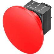 Siemens 3SB30001QA21 Pushbutton, Momentary, Red, 60mm, Operator, Round-Plastic