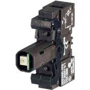 Siemens 3SB3400-1QD Accessory, Integrated LED, 120V Blue