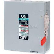 Siemens GF321N Safety Switch 30A, 3P, 240V, Fused, W/N GD, Type 1