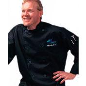 Traditional Chef'S Jacket Qc Lite™, Small, Chef Tex, Black
