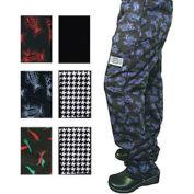 E Z Fit Chef'S Pants Qc Lite™, X Large, Black