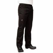 Basic Chef'S Pants, 3X, Black