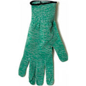 Spectra®Produce Glove, Large, Cut Resistant, Green