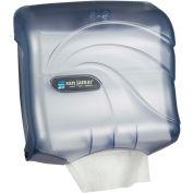 San Jamar Ultrafold Touchfree Multifold/C-Fold Towel Dispenser, Oceans Arctic Blue - T1759TBL