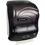 "San Jamar 10"" Simplicity Hands-Free Roll Mechanical Towel Dispenser, Oceans Black Pearl - T7100TBK"