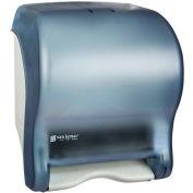San Jamar Tear-N-Dry Essence™ Automatic Roll Towel Dispenser, Classic Arctic Blue - T8000TBL