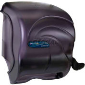 San Jamar Element™ Lever Roll Towel Dispenser, Oceans® Transparent Black Pearl - T990TBK