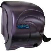 San Jamar Element™ Lever Roll Towel Dispenser, Oceans® Transparent Black Pearl - T990TBK