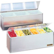 "EZ-Chill® Garnish Centers, 5 7/8""h x 18""w x 5 3/8""d, 3 pts"