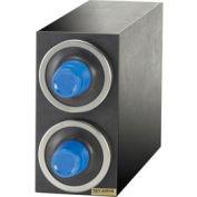 "Dimension™ Beverage Center Cabinets, 15-1/8"" Hx7-3/4"" Wx23"" D, Black Trim"
