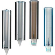 San Jamar C3250SS Water Cup Dispenser, Stainless Steel, Large, Pull-Type Package Count 6