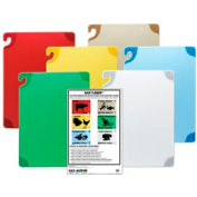 "Saf-T-Grip® Cutting Boards, White, 15""H x 20""W x 1/2""D"