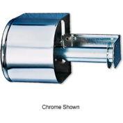 San Jamar® Covered Reserve Roll Tissue Dispenser - White - R1500WH