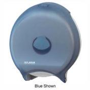 "San Jamar® Classic Single 12"" JBT Dispenser - Black - R6000TBK"