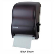 San Jamar® Lever Roll Towel Dispenser with Auto Transer - Blue - T1100TBL