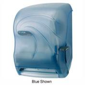 San Jamar® Savvy® Oceans® Lever Roll Towel Dispenser - Black - T1190TBK