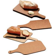 "Tuff-Cut® Bread Boards, 8.5X6.5X3/4"", 4"" Handle & Butter Well"