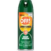 OFF!® Deep Woods Sportsmen Deep Woods Aerosol Repellent w/30% DEET, 6 oz. Aerosol Can, 12/Case