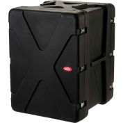 "SKB Cases 20"" Deep 16U Roto Shock Rack 1SKB-R916U20 Black, Water Resistant"