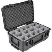"SKB iSeries Waterproof Utility Case 3i-2011-7B-D W/Padded Dividers Watertight, 21-7/8""L x 13-15/16""W"
