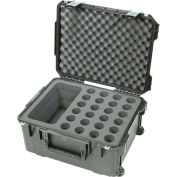 "SKB Waterproof Twenty-four Mic Case Watertight, 22-15/16""L x 18""W"