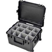 "SKB iSeries Waterproof Utility Case 3i-2217-12BD W/Padded Dividers Watertight, 24-5/16""L x 19-1/2""W"