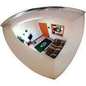 "Se-Kure™ Quarter Dome Mirror, 18"" Diameter - Pkg Qty 4"