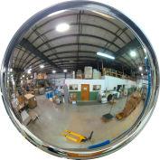 """Se-Kure™ Indoor/Outdoor Convex Mirror 42"""" Diameter, 2 Mount Brackets, DCV0-42T-8D"""