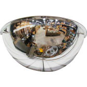 "Se-Kure™ Half Dome Mirror, 36"" Diameter"