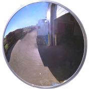 "Se-Kure™ Acrylic Outdoor Convex Mirror, 18"" Diameter - Pkg Qty 2"