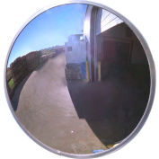 "Se-Kure™ Acrylic Outdoor Convex Mirror, 36"" Diameter"