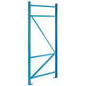 """SK3000® Structural Channel Pallet Rack - 48""""W X 192""""H Upright"""