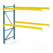 "Steel King® SK3000® Pallet Rack 108""W x 36""D x 144""H 4040 Lbs. Cap. Per Level, Add-On Unit"