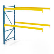 "Steel King® SK3000® Pallet Rack 120""W x 48""D x 144""H 3320 Lbs. Cap. Per Level, Add-On Unit"
