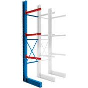 "Global Industrial™ Single Sided Cantilever - 192"" Upright - 72"" Brace Kit - Adder"